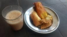 Local snacks & chai